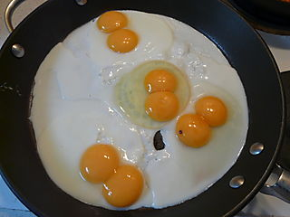 Four Double Yolk Eggs